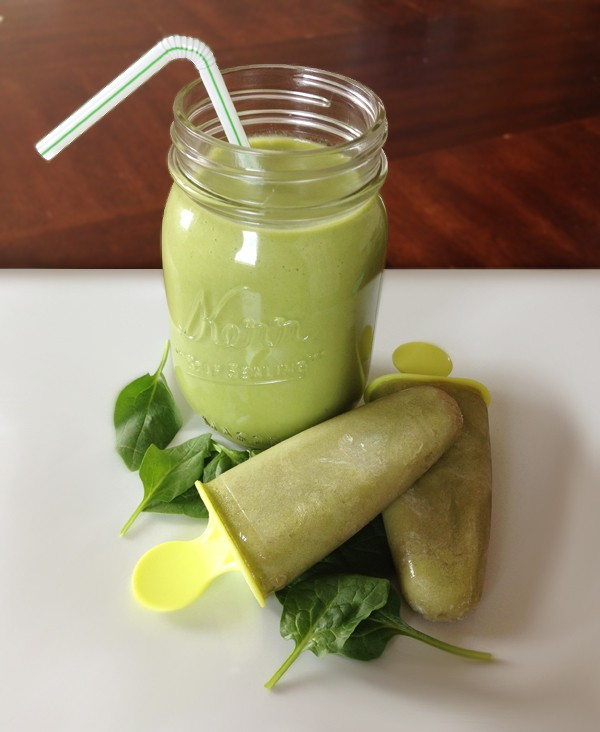 Green Pineapple Smoothie | Our Paleo Life