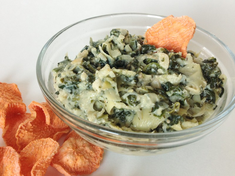 Creamy Spinach Artichoke Dip | Our Paleo Life