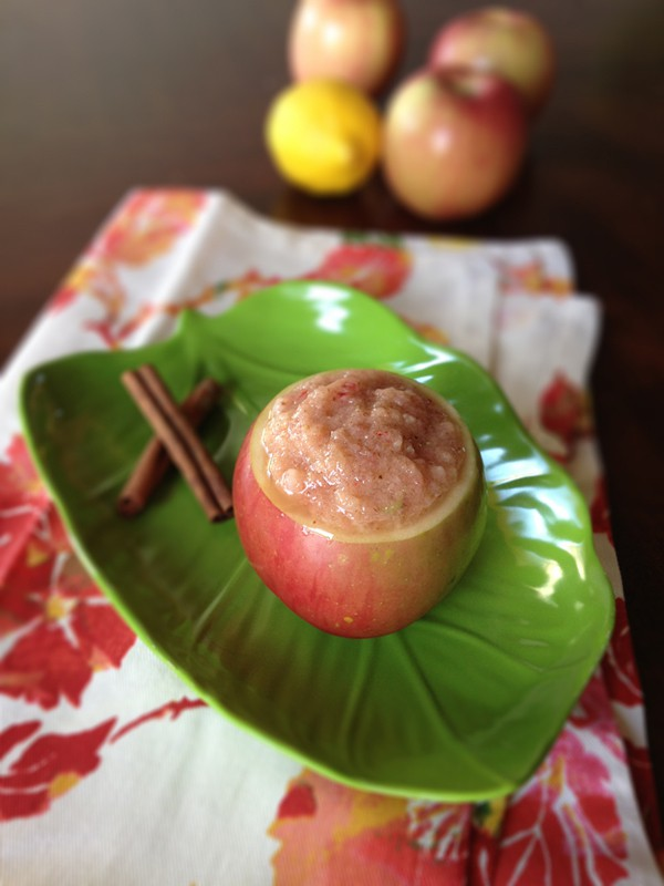 Blendtec Raw Cinnamon Applesauce