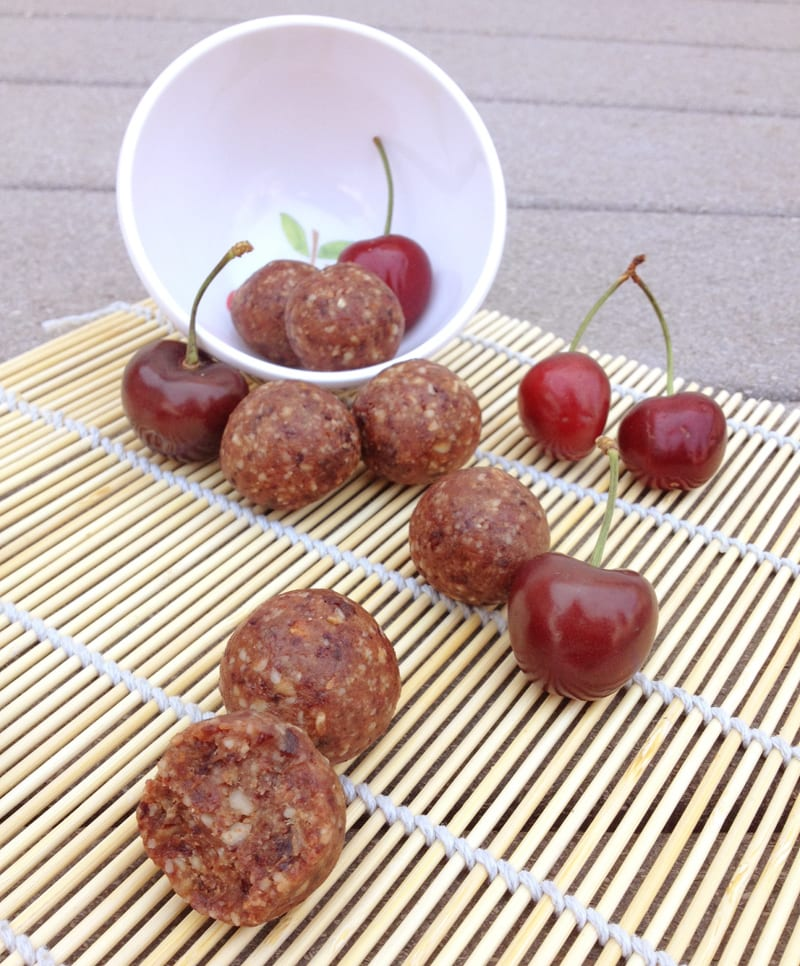 Cherry Pie Bites | Our Paleo Life
