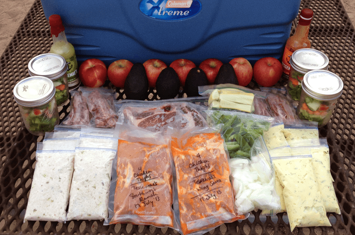Paleo Food Prep For Camping