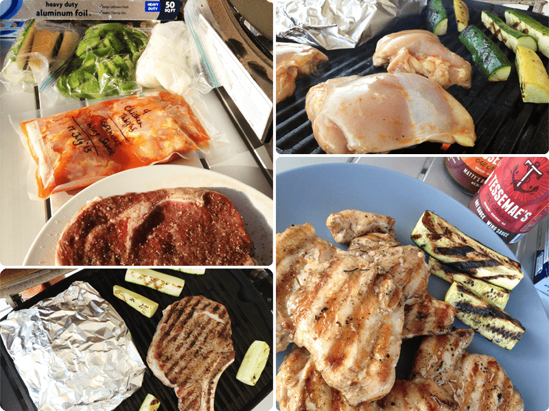 Grilling Chicken and Veggies While Camping | Our Paleo Life