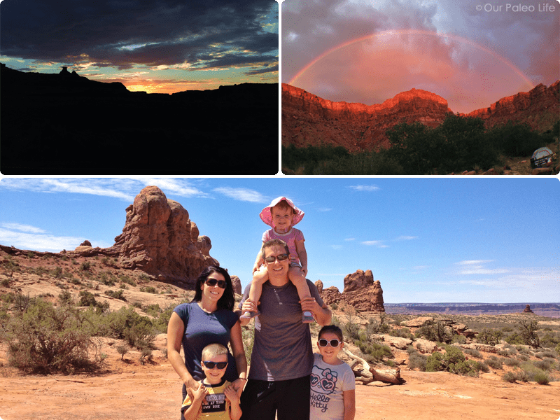 Camping in Moab, UT   Our Paleo Life