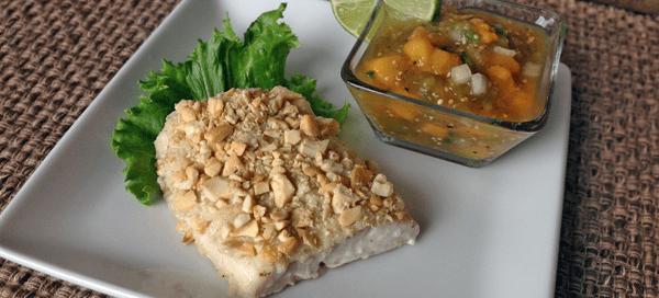 Cashew Crusted Mahi Mahi {by Our Paleo Life}