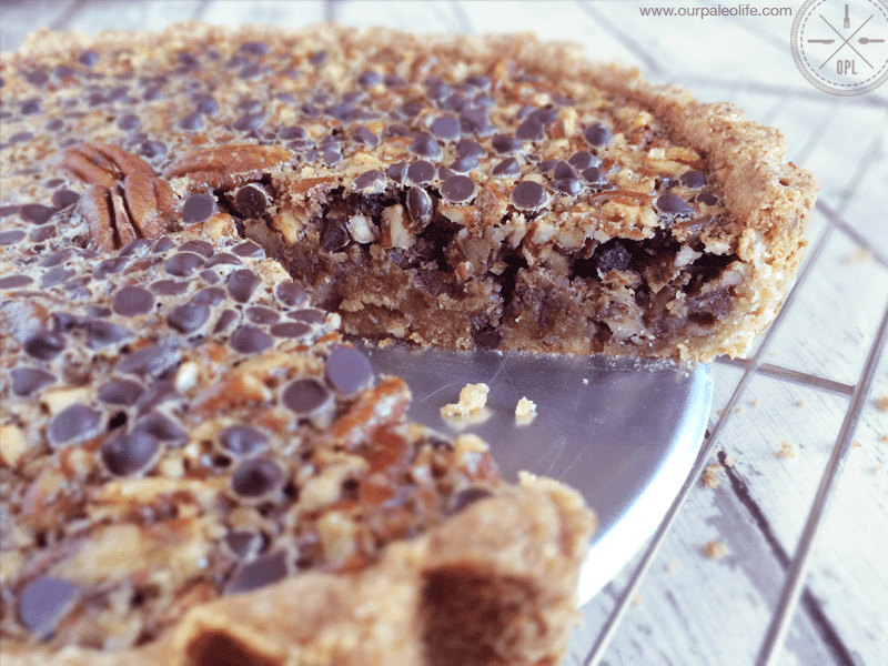 Chocolate Pecan Pie | Our Paleo Life