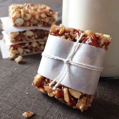 Honey Nut Bars | Our Paleo Lofe