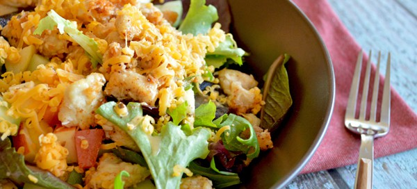 Crispy Chicken Salad {by Our Paleo Life}