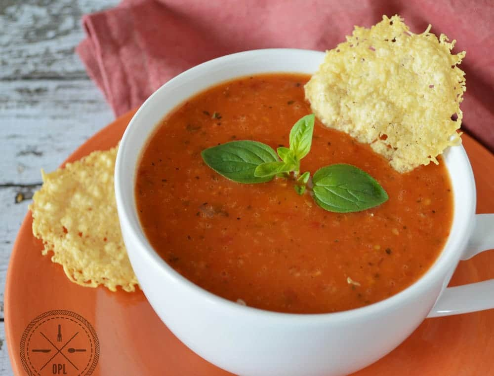 Creamy Tomato Bisque | Our Paleo Life