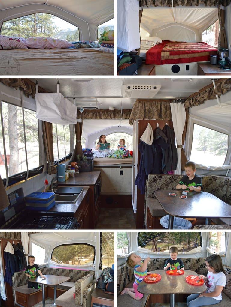 Camper Interior | Our Paleo Life