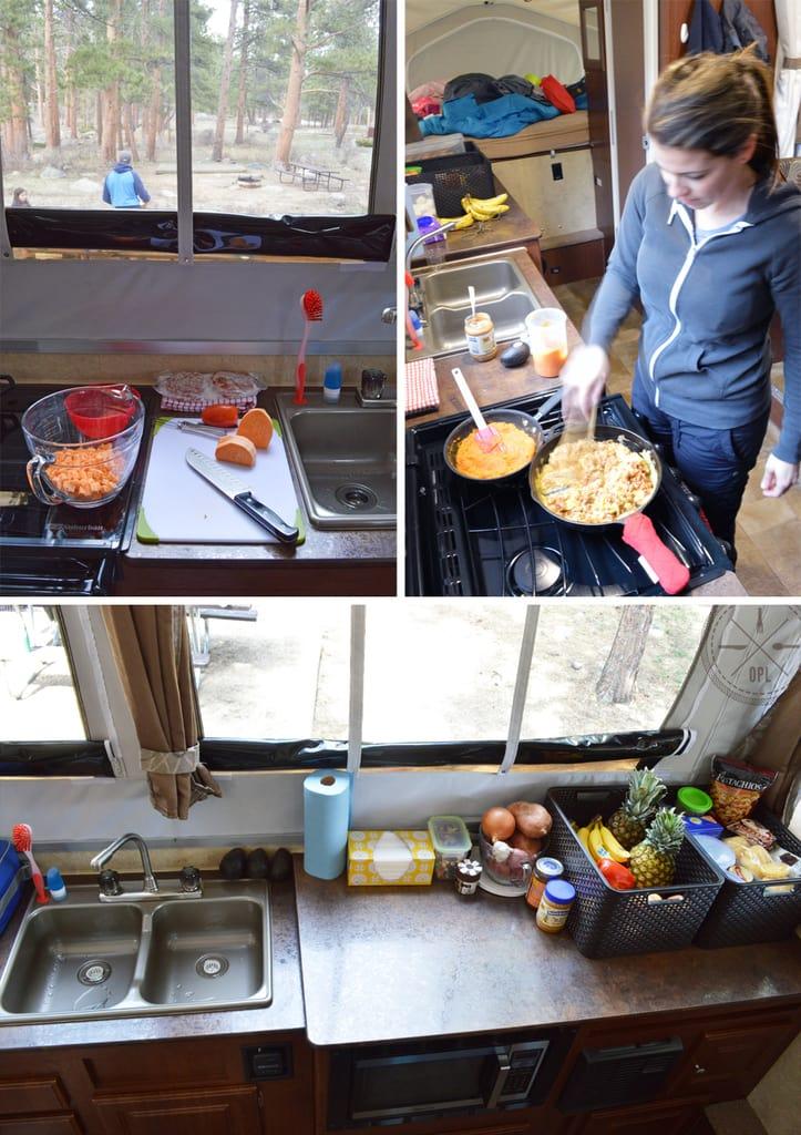 Camper Kitchen | Our Paleo Life