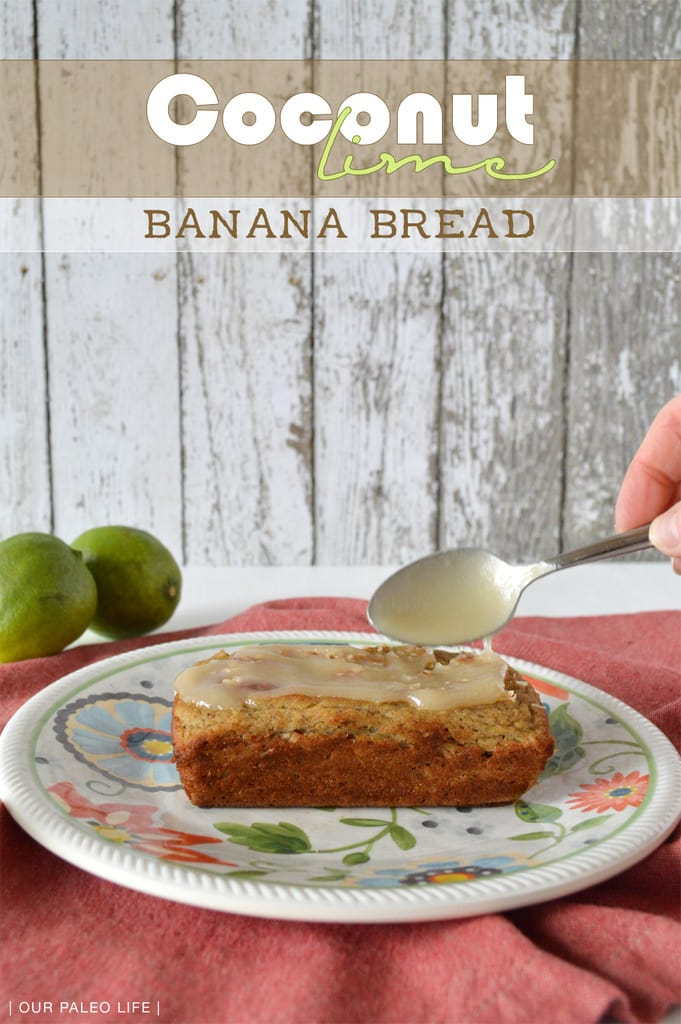 Coconut Lime Banana Bread