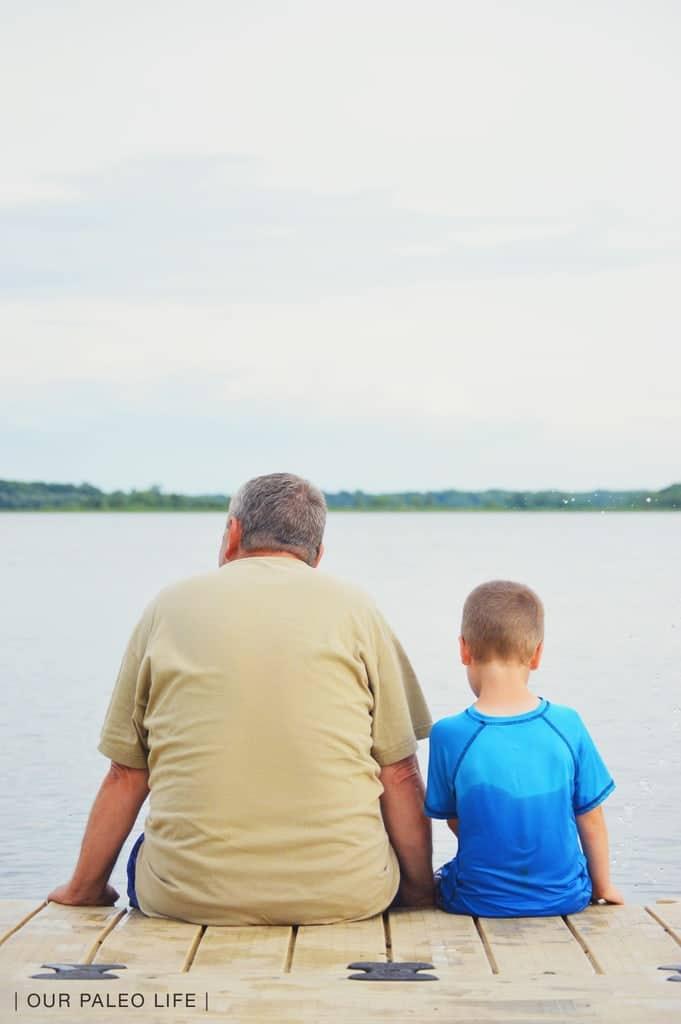 Russell & Grandpa