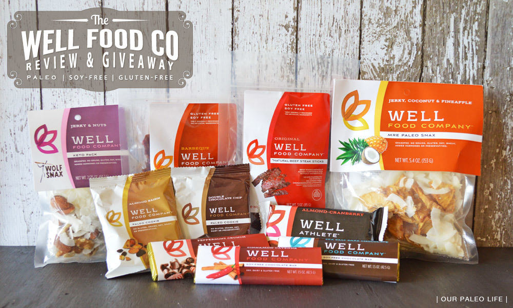 Well Food Co Review and Giveaway on Our Paleo Life
