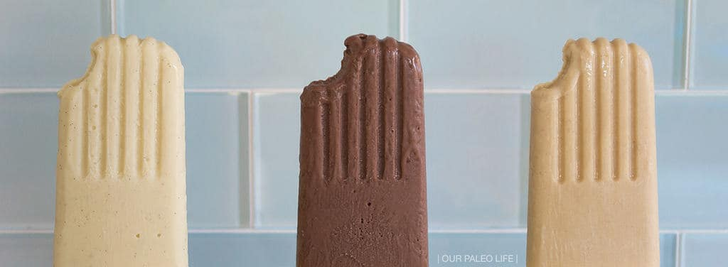 Paleo Pudding Pops {dairy-free} by Our Paleo Life