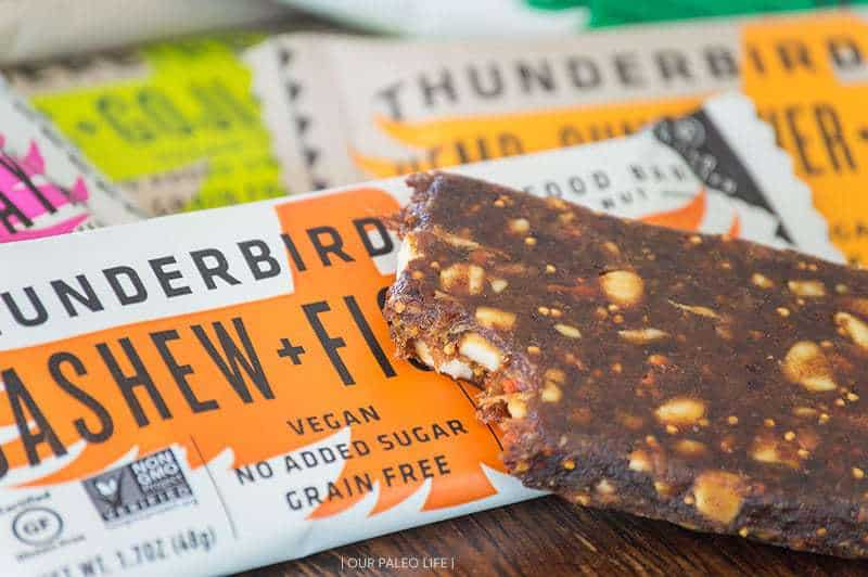 Thunderbird Real Food Bars {review and giveaway} by Our Paleo Life