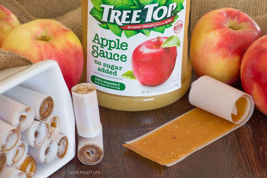 Apple Fruit Leather {no sweeteners added}