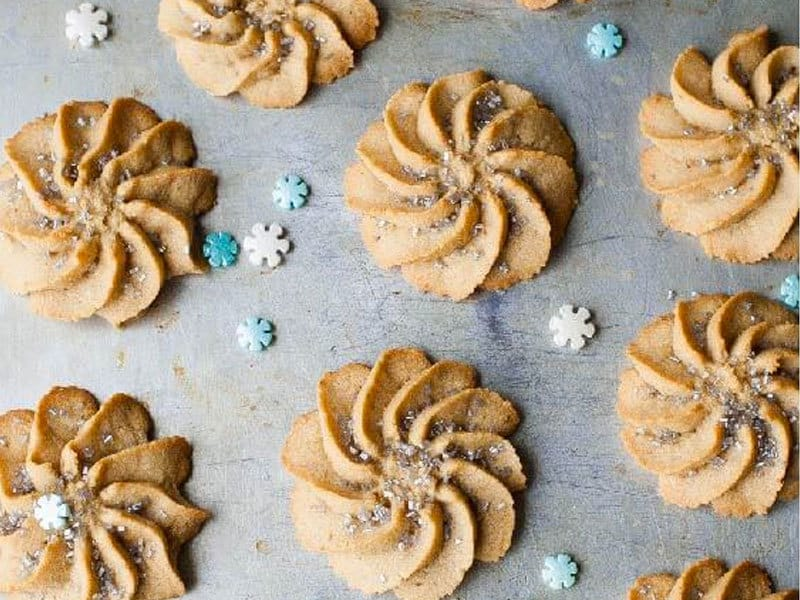 Paleo Spritz Cookies | My Natural Family