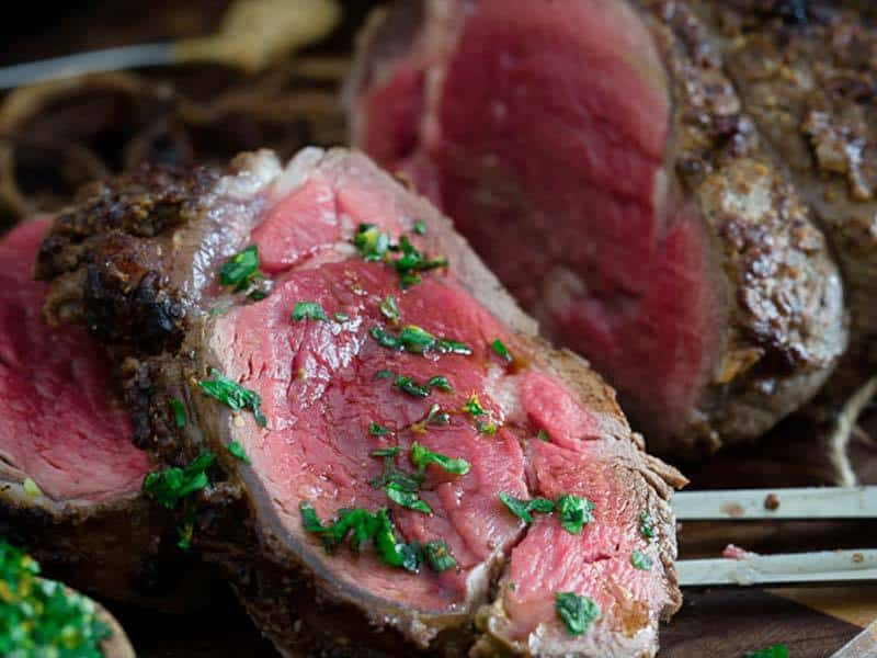 Balsamic Dijon Crusted Beef Tenderloin   Running to the Kitchen
