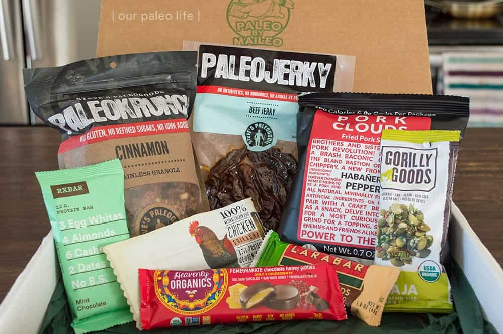 Paleo by Maileo Subscription Box Product Review