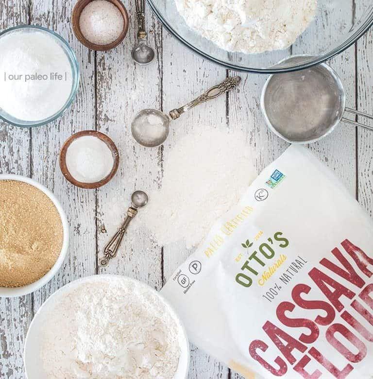 Cassava Flour Pancake Mix {grain-free; gluten-free}