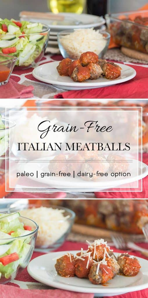 These Italian meatballs use a surprising ingredient to keep them grain-free.