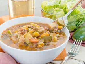 Paleo Minestrone Soup