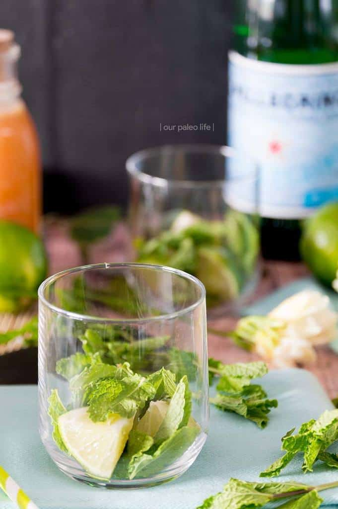Virgin Maple Mojito {no refined-sugar, kid-friendly}