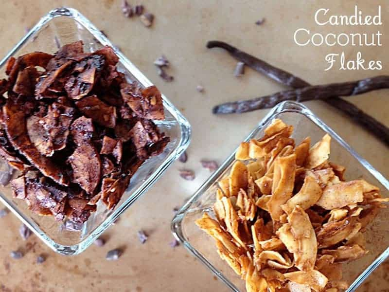 Candied Coconut Flakes {Our Paleo Life}