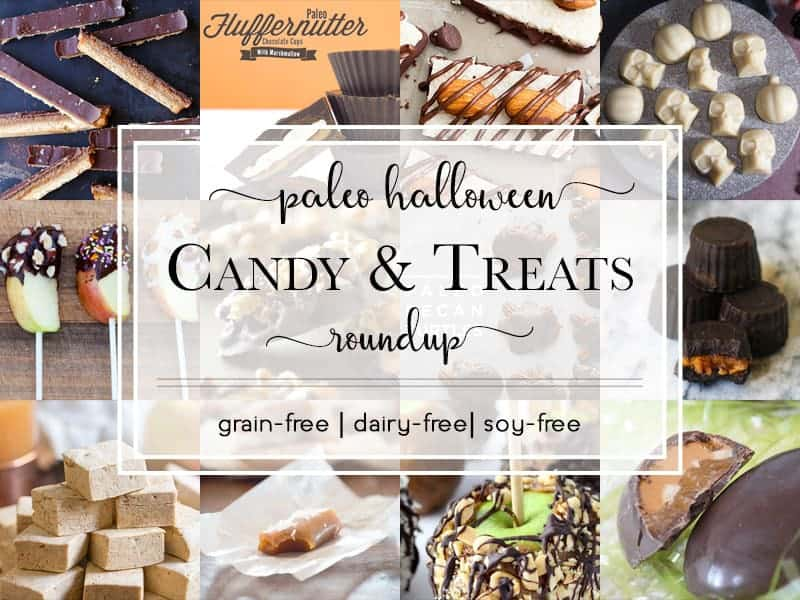 We've gathered a list of the top 13 Paleo Halloween Candy & Treats so you're not left out of all the chocolate-eating fun this year.