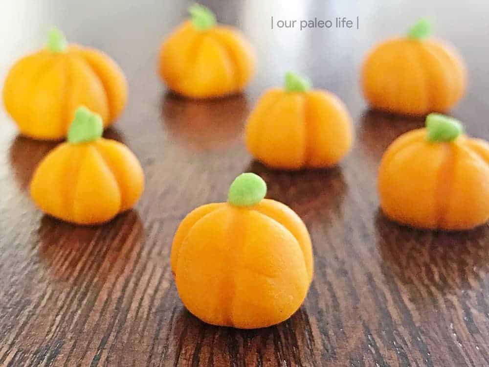 White Chocolate Pumpkins