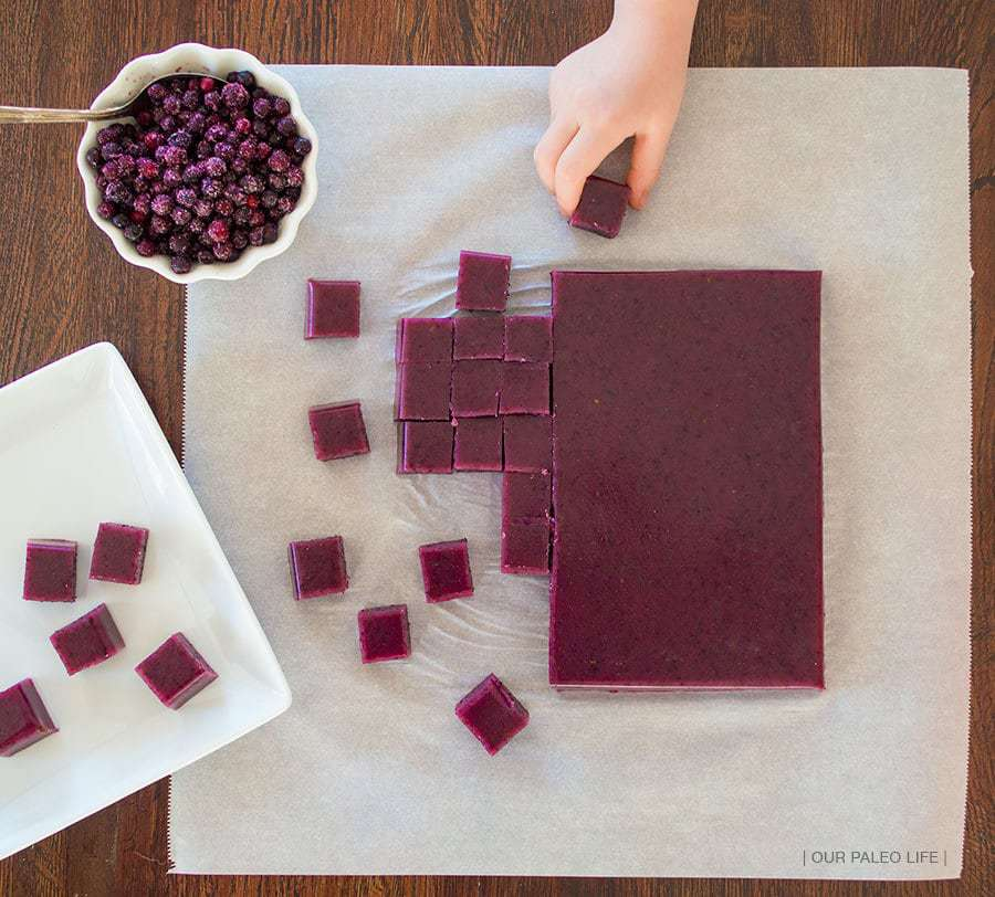 Blueberries & Cream Gummies {by Our Paleo Life}