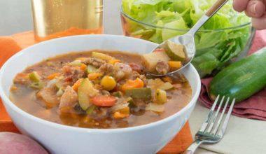 Slowcooker Minestrone Soup