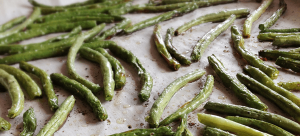 Bacon Roasted Green Beans | Our Paleo Life
