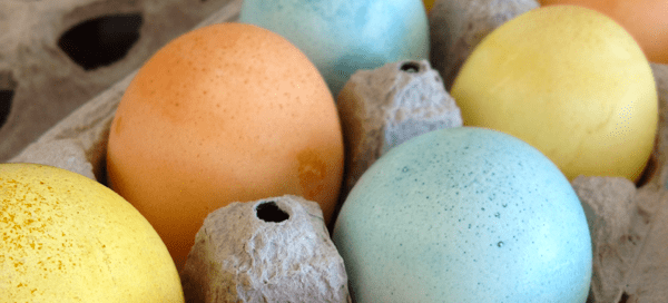 Naturally Dyed Easter Eggs | Our Paleo Life