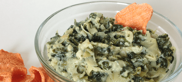 Creamy Spinch Artichoke Dip | Our Paleo Life