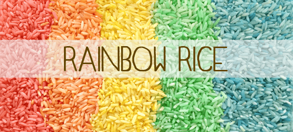 Rainbow Rice | Our Paleo Life (What to do with non-paleo food)