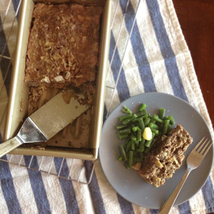Artichoke Meatloaf | Our Paleo Life