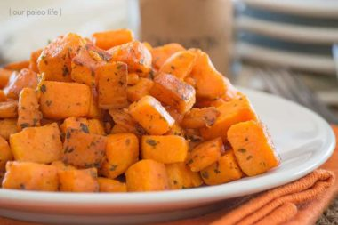 Skillet Sweet Potatoes {grain-free}
