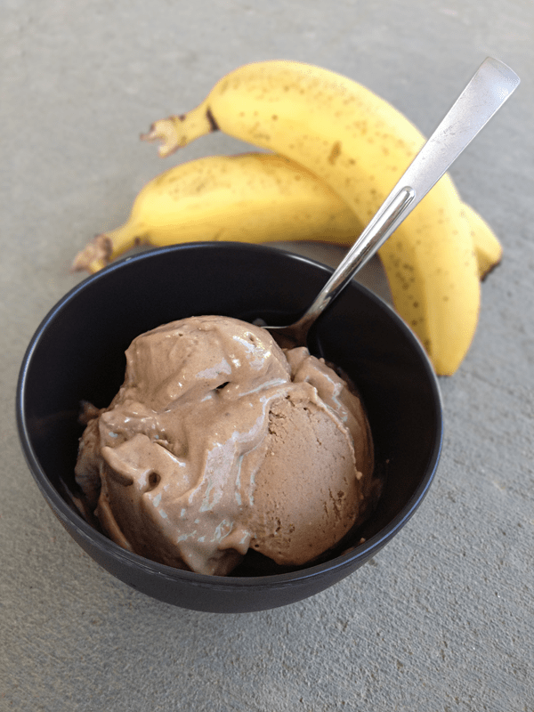 Banana Chocolate PB Ice Cream | Our Paleo Life