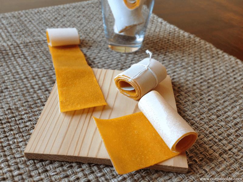 Mango Fruit Leather | Our Paleo Life