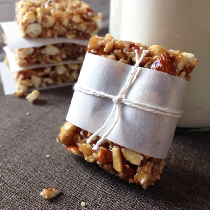 Paleo Honey Nut Bars   Our Paleo Life