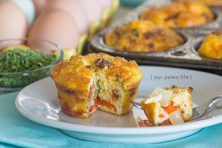 Spicy Egg Muffins