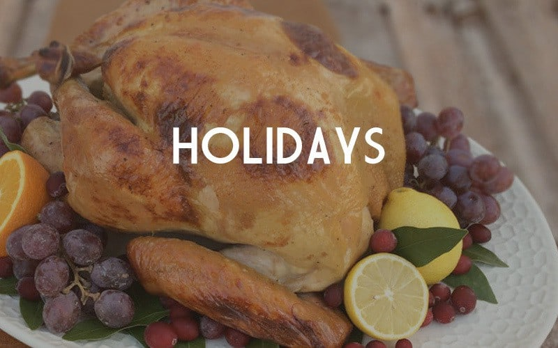 Holiday Recipes by Our Paleo Life