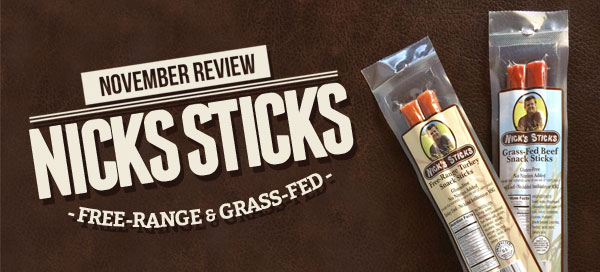Nick's Sticks {Product Review} | Our Paleo Life