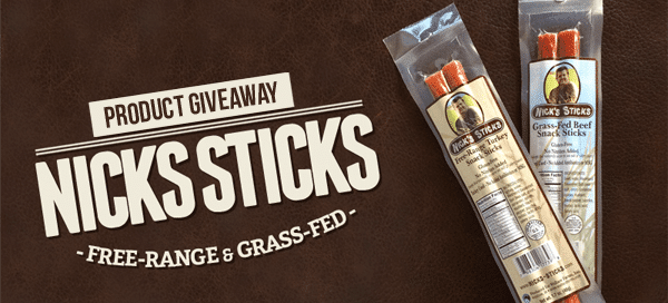Nick's Sticks Givaway by Our Paleo Life