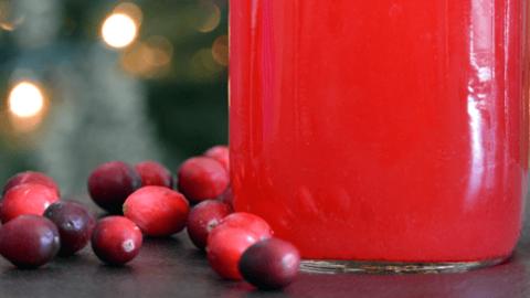 The Homemade Cranberry Juice Recipe Our Paleo Life