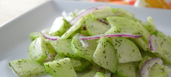 Cool As A Cucumber Salad | Our Paleo Life
