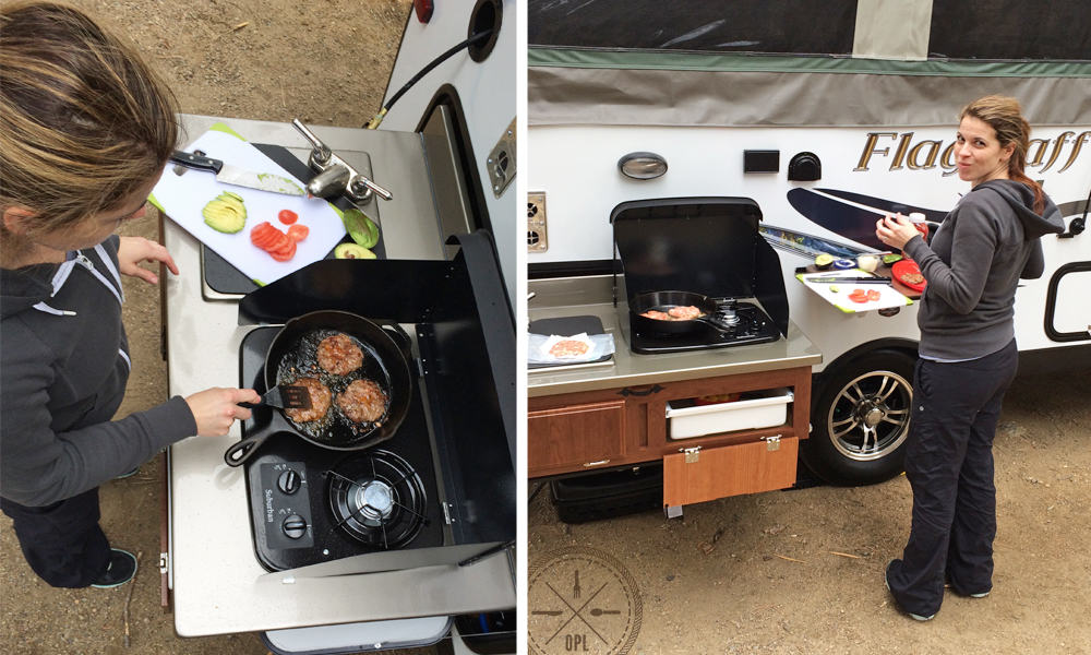 Outdoor Camper Kitchen | Our Paleo Life