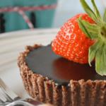 Mini Chocolate Hazelnut Tart {paleo, vegan, raw} | Our Paleo Life