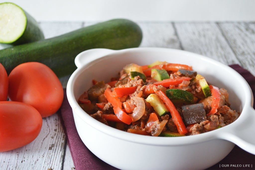 Beefy Ratatouille | Our Paleo Life